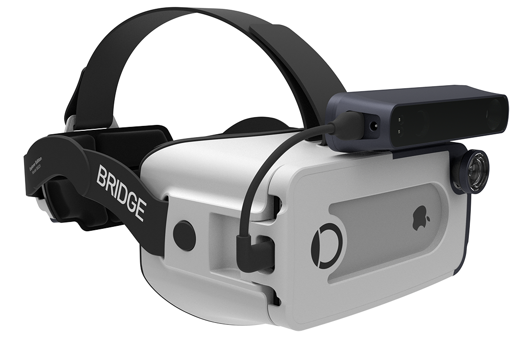 Bridge Headset from Occipital Brings Mixed-Reality on Your iPhone