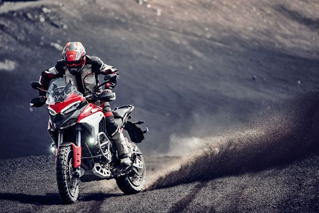 Ducati's New Motorcycle Is a High-Tech, Low-Maintenance Adventure Bike