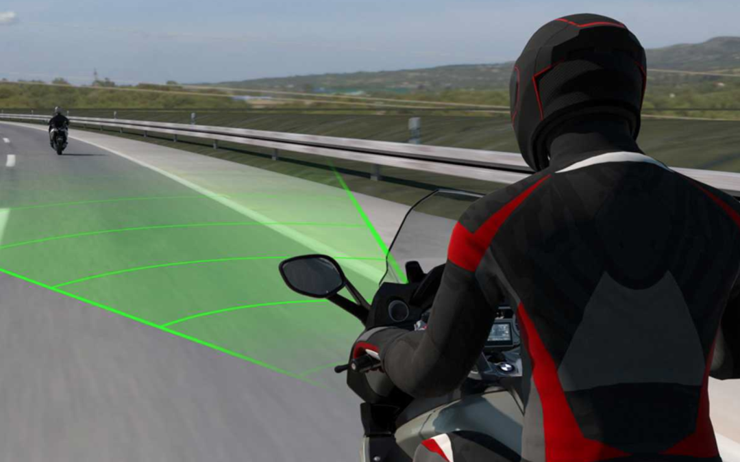 Smart cruise control comes to motorcycles